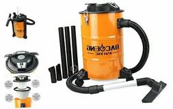 BACOENG 5.3-Gallon Ash Vacuum Cleaner with Double Stage Filt