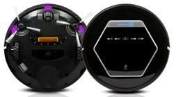 ROLLIBOT BL618 Quiet Robotic UV Vacuum Cleaner. Black