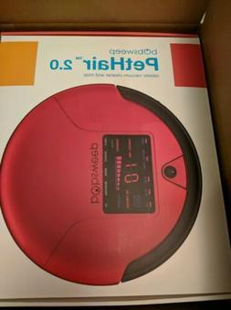 Bobsweep bObi 2.0 Pet Hair Robotic Vacuum Cleaner in rouge
