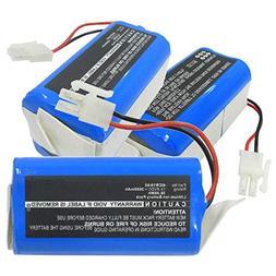 Exell 14.8V 2600mAh Li-ion Vacuum Battery Fits ECOVACS CEN