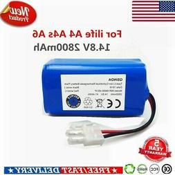 For ILIFE A4S A4 A6 V7 14.8V 2800mAh Replaceable Battery Rob