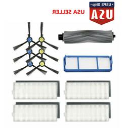 For ILIFE A7 A9S Robot Vacuum Cleaner Filters + Side Brushes