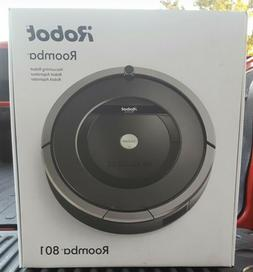 irobot 801 robotic vacuum cleaner new great