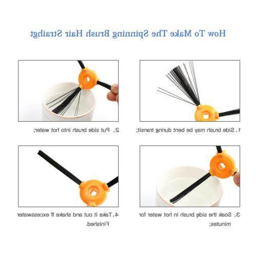 16PC Replacement DEEBOT N79 N79S Main Brush Filter Brush