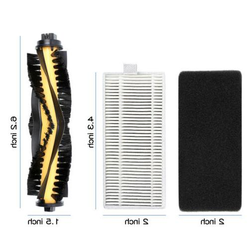 16PC DEEBOT N79 Main Filter Brush Kits