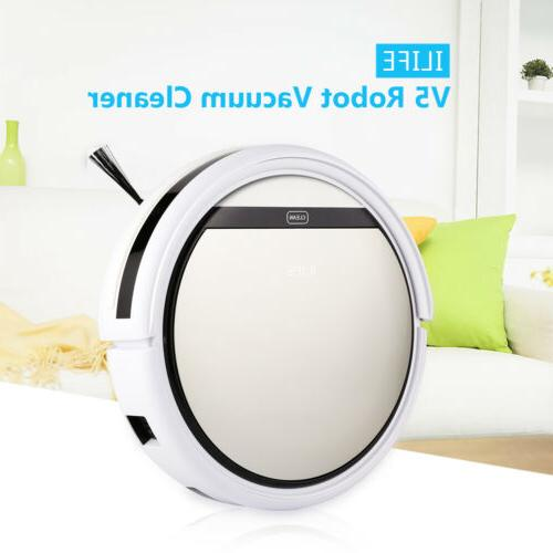 ILIFE V5 Smart Robotic Vacuum Dust Cleaner Microfiber Auto C