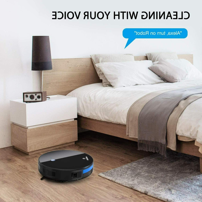 Moosoo Automatic Smart Vacuum Slim App Alexa