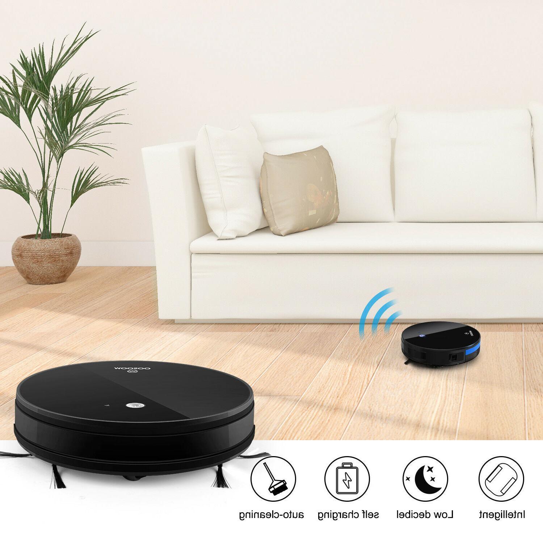 Moosoo Smart Robot Vacuum App Alexa Support