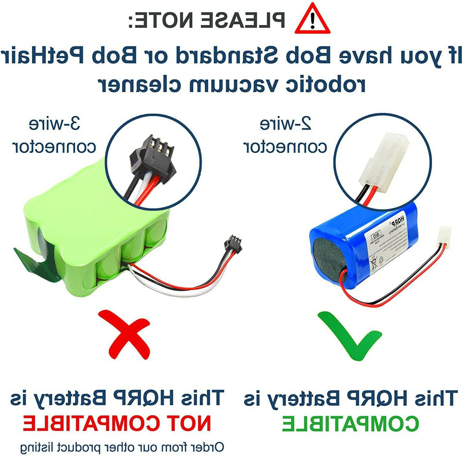 Battery BOBSWEEP Robotic Robot Vac
