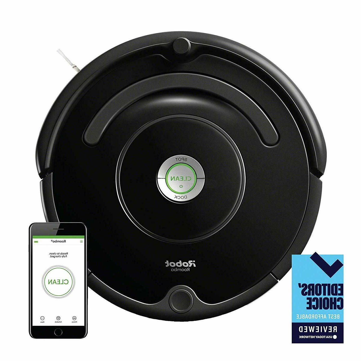 Brand 675 Connected Robot Vacuum
