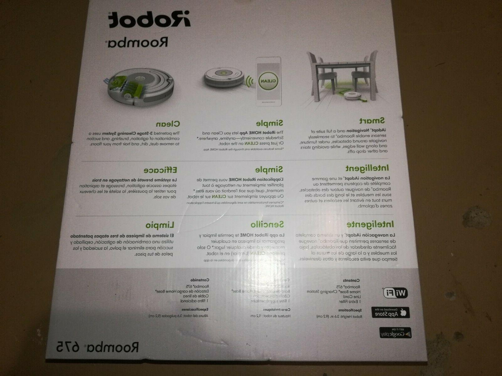 Brand iRobot Roomba 675 Vacuum