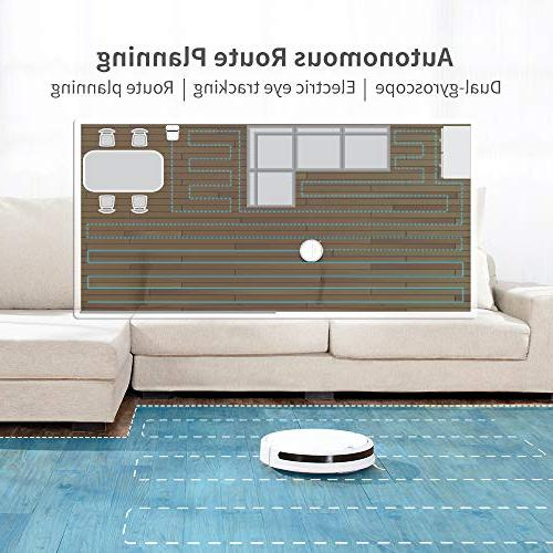 Roborock Cleaner Sweeping and Robotic and Pet Hair, Strong Suction App Control, Route Planning Hard Floor, Carpet All