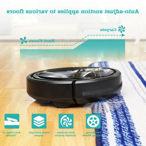 i Robotic Vacuum Cleaner Pet Hair Carpet and Bare Ultra Slim