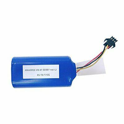 Replacement Battery for MT820 or DEIK Robotic Vacuum Cleaner