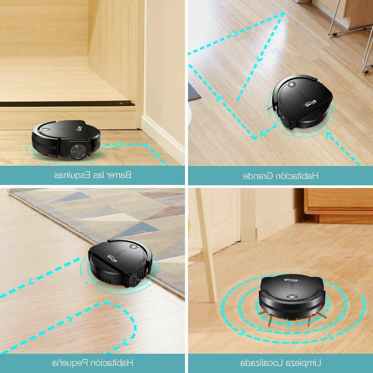 Robot cleaner with smart Modes Powerful