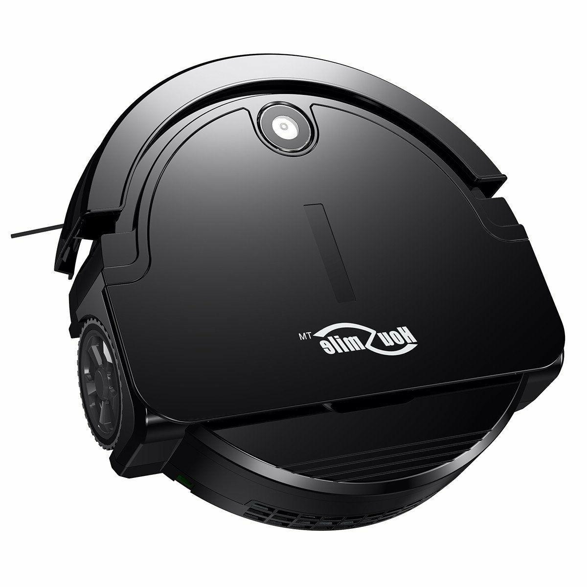 robot vacuum cleaner cleaning with smart sensors