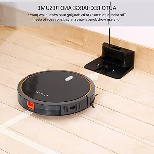 Coredy Robot Vacuum and Tank, High Suction to Carpets, Floor, Filter for Self-Charging,