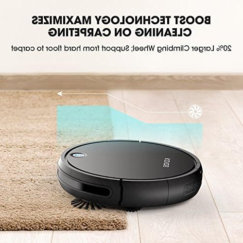 Robot Vacuum KOIOS - I3 Higher Suction Cleaner with Drop-sensing Technology, Filter for Fur, Battery Time Cleaner