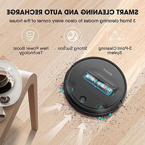 Robot Vacuum KOIOS - I3 Higher Cleaner Drop-sensing Technology, for 2600mAH Battery Long Cleaner