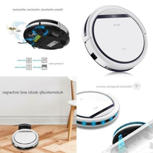 Robotic Vacuum Pear White Pet Hair Care Powerful Suction Tan