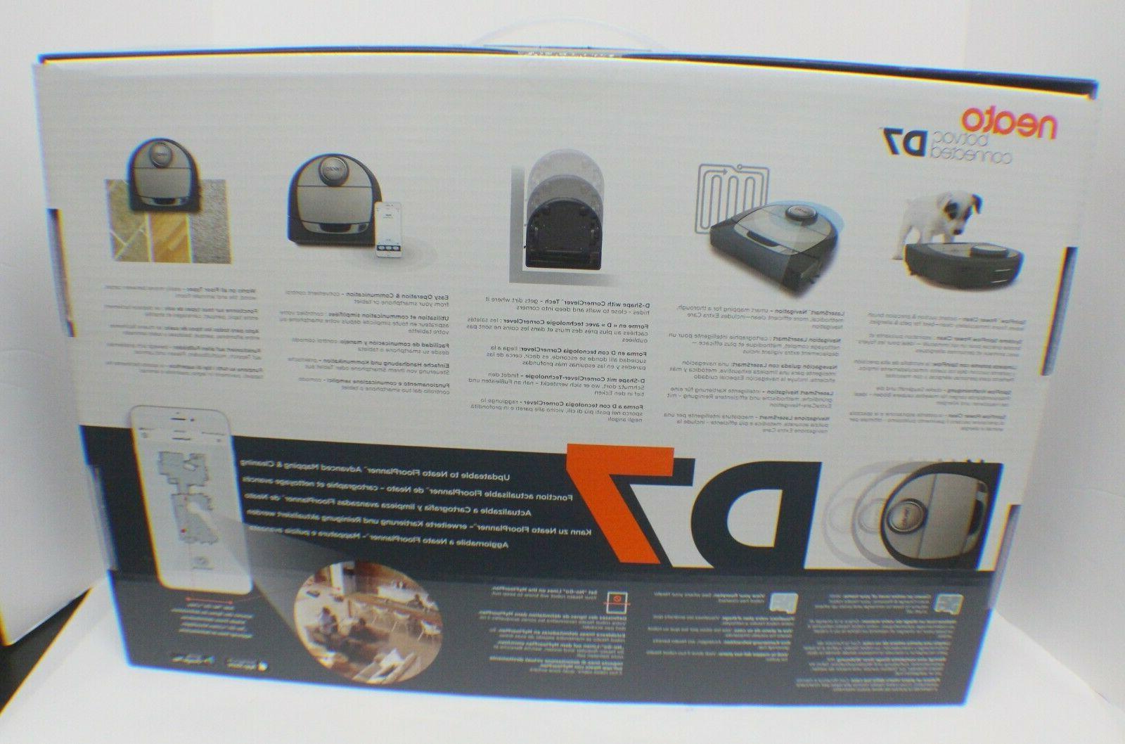 Neato D7 Grey Robotic Vacuum Cleaner - NEW