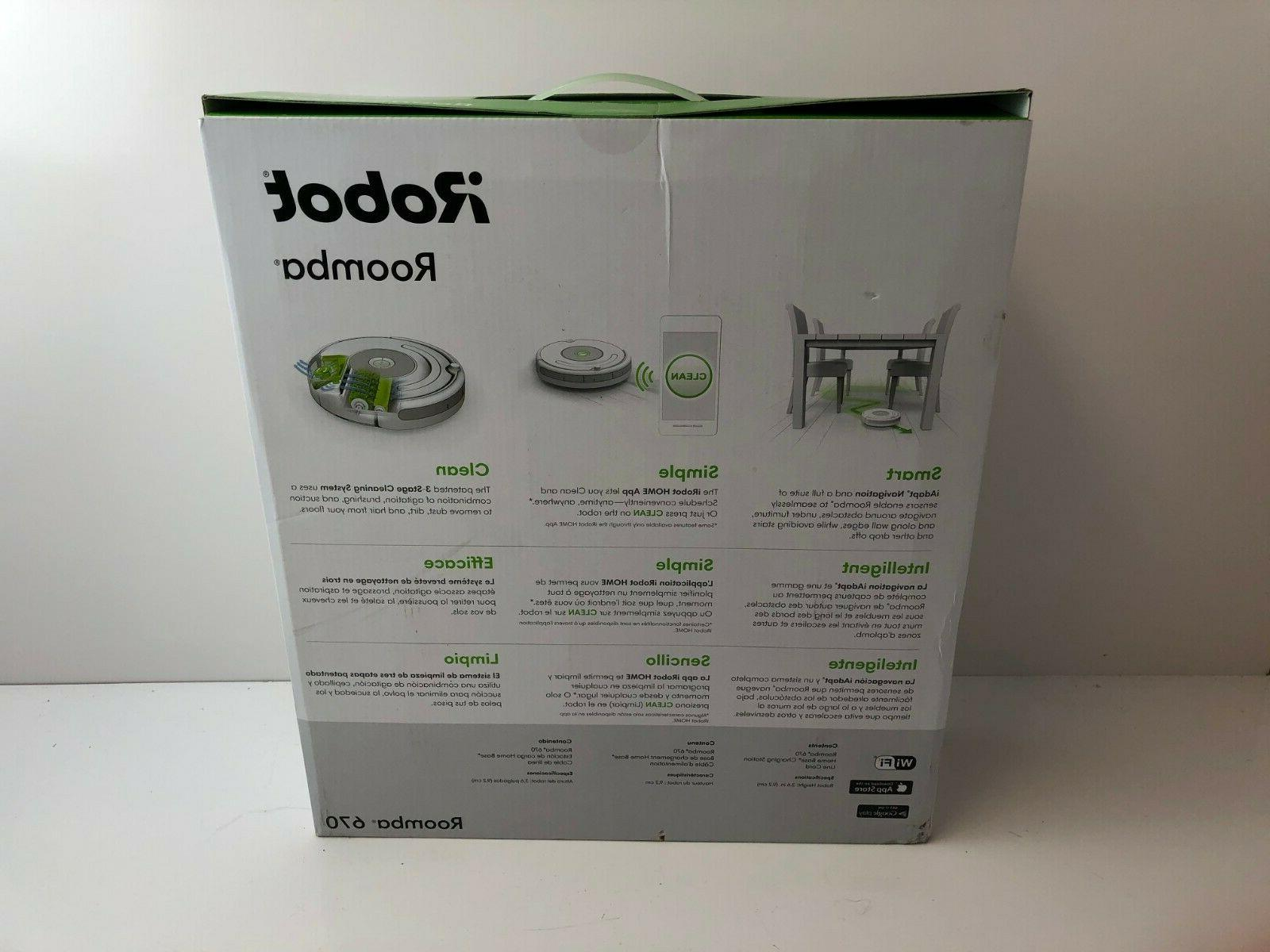 iRobot 670 Cleaning Robot New!!!