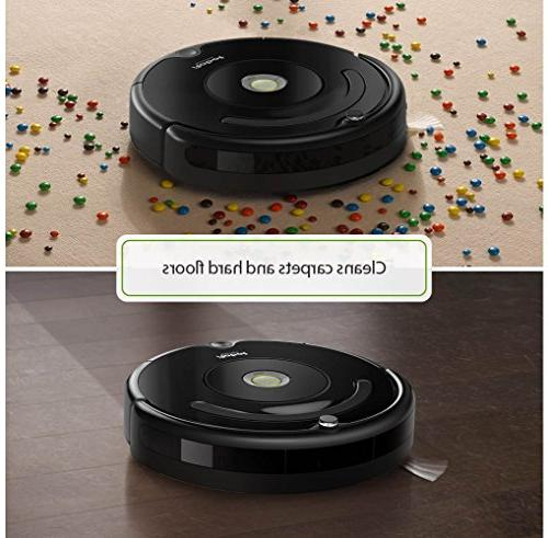 iRobot Roomba 675 Vacuum with Wi-Fi Connectivity, Works with Alexa, for Hard