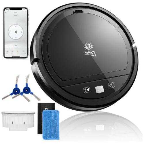 WiFi Super-Thin Suction Robotic Cleaner Mop Floors