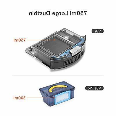 ILIFE V8s, Vacuum and 750ml Dustbin, LCD