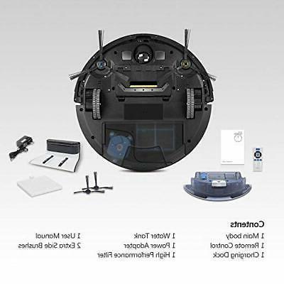 ILIFE Robotic Vacuum 0.75L LCD
