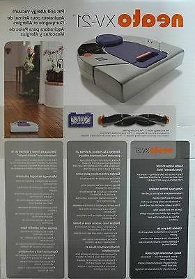 NEATO XV-21 Pet & Allergy Automatic Vacuum NEW!
