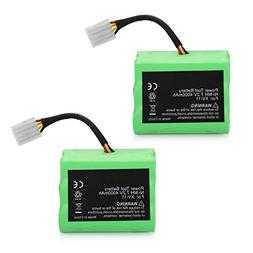 ANTRobut 2 Pack 4000mAh 7.2V Neato Battery Replace for Neato