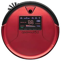 Bobsweep PetHair Robotic Vacuum Cleaner and MOP - Rouge - Br