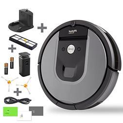 iRobot Roomba 960 Robotic Vacuum Cleaner Bundle - Includes 1