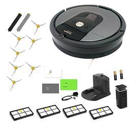 iRobot Roomba 960 Robotic Vacuum Cleaner Extended LIFE Bundl