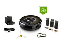 iRobot Roomba 980 Robot Vacuum with Wi-Fi Connectivity +1 ex