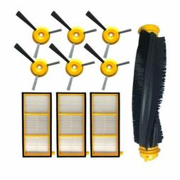 For Shark ION ROBOT RV700 RV720 RV750/C Filter Side Brush Va