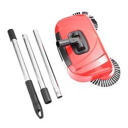 TOOGOO Stainless Steel Sweeping Machine Push Type Broom Dust