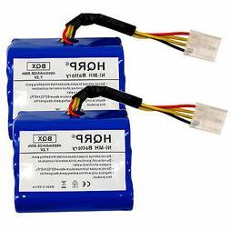 TWO 4000mAh Battery Pack for NEATO XV-11 XV-12 XV-15 Robotic