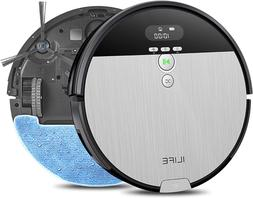 New Robot Vacuum Cleaner and Mop Combo, XL 750ml Dustbin, Id