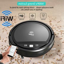 Vacuum Cleaner Smart Robot Wi-Fi 1600Pa APP Control Auto Dis