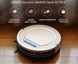 ILIFE X5 Smart Robotic Vacuum Cleaner, Tyrant Gold